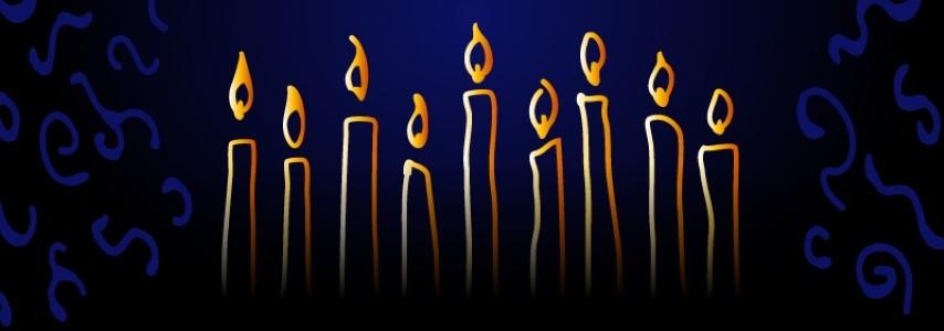 נרות חנוכה