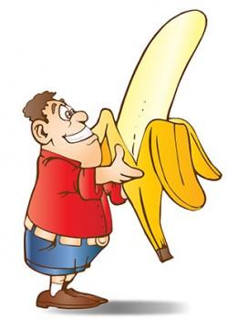 בננה גדלה על העץ או על האדמה?