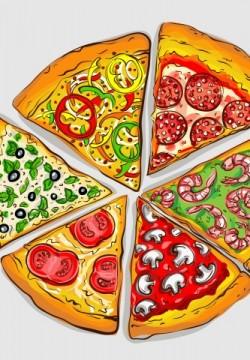 פיצה ושווארמה על שולחן אחד, מותר או אסור?