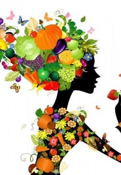 אשה פירות וירקות_121239448 (Small)
