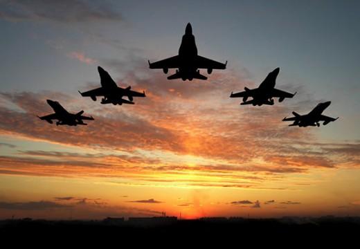 מטוסים-בזריחה