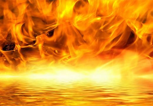 רקע-של-להבות-אש