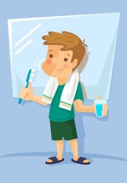 האם יש איסור לצחצח שיניים בשבת עם משחה רגילה?