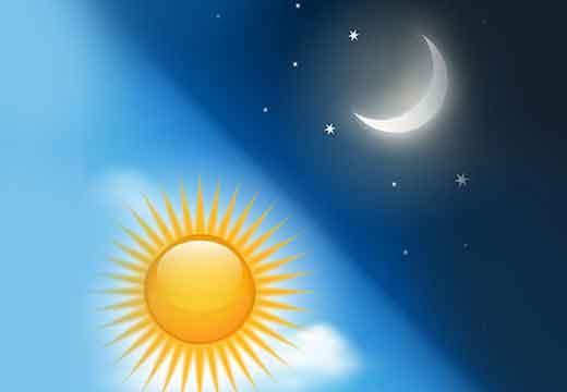 השמש והירח נעצרים מהילוכם בזמן מלחמת יהושע