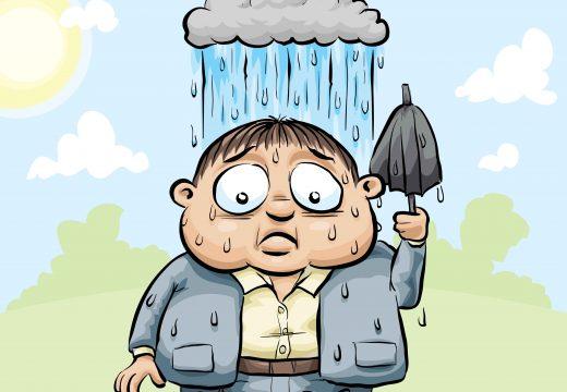 גשם-מטריה