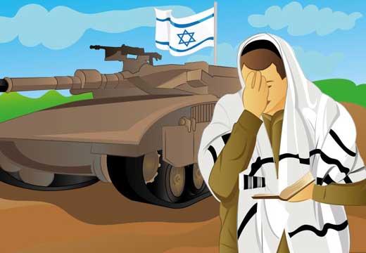חייל, לפני הכניסה לעזה מה תברך?