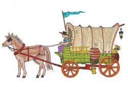העגלה הריקה שהתמלאה במידות טובות
