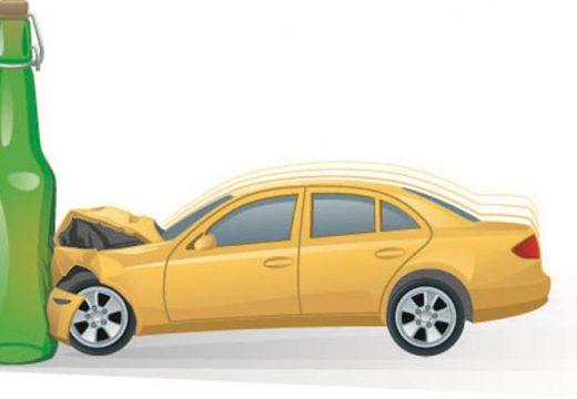 מכונית נתקעת בבקבוק (Small)