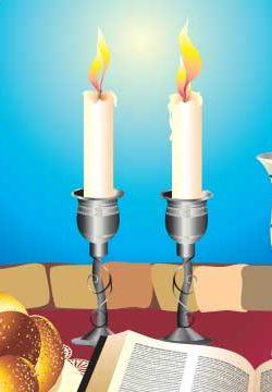 הדלקת נרות שבת