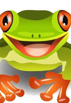 """הענק הירוק: """"כמו בסרט אימה, צפרדע ענקית צמחה לפתע מתוך מי היאור והחלה להשמיע צרחות מפחידות"""""""
