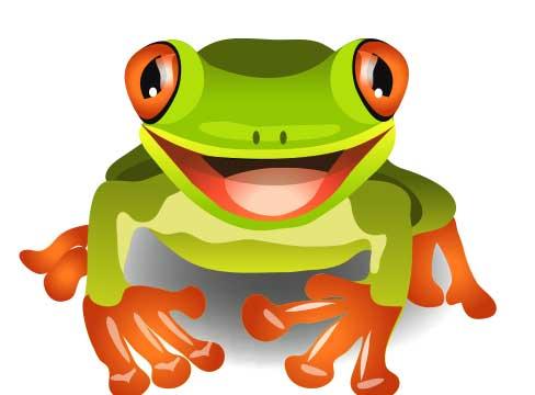 צפרדע ענקית צמחה לפתע מתוך מי היאור