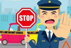 הגיע שוטר כושי עם ניידת,משהו בלתי ברור השתנה פתאום. השוטר התחיל לנסוע לכיוון ההפוך