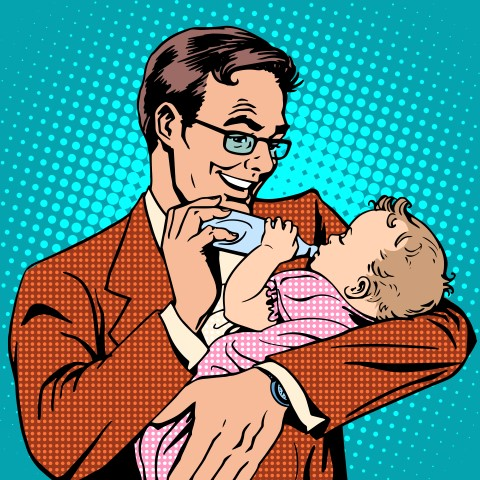 אבי התינוק התבייש מאוד וכשדמעות חונקות את גרונו ביקש להתנצל